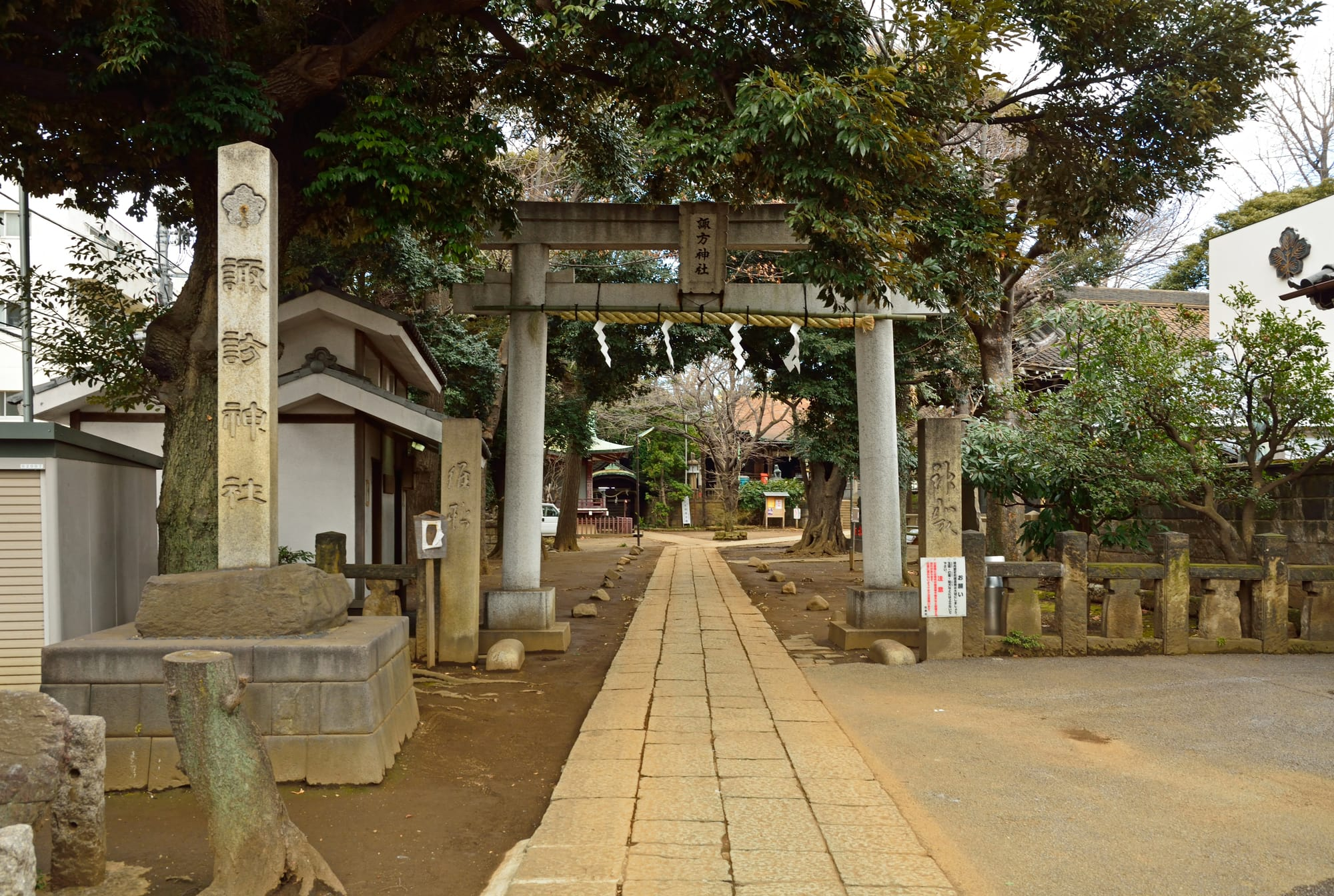 "About ""Suwa"" Shrine"