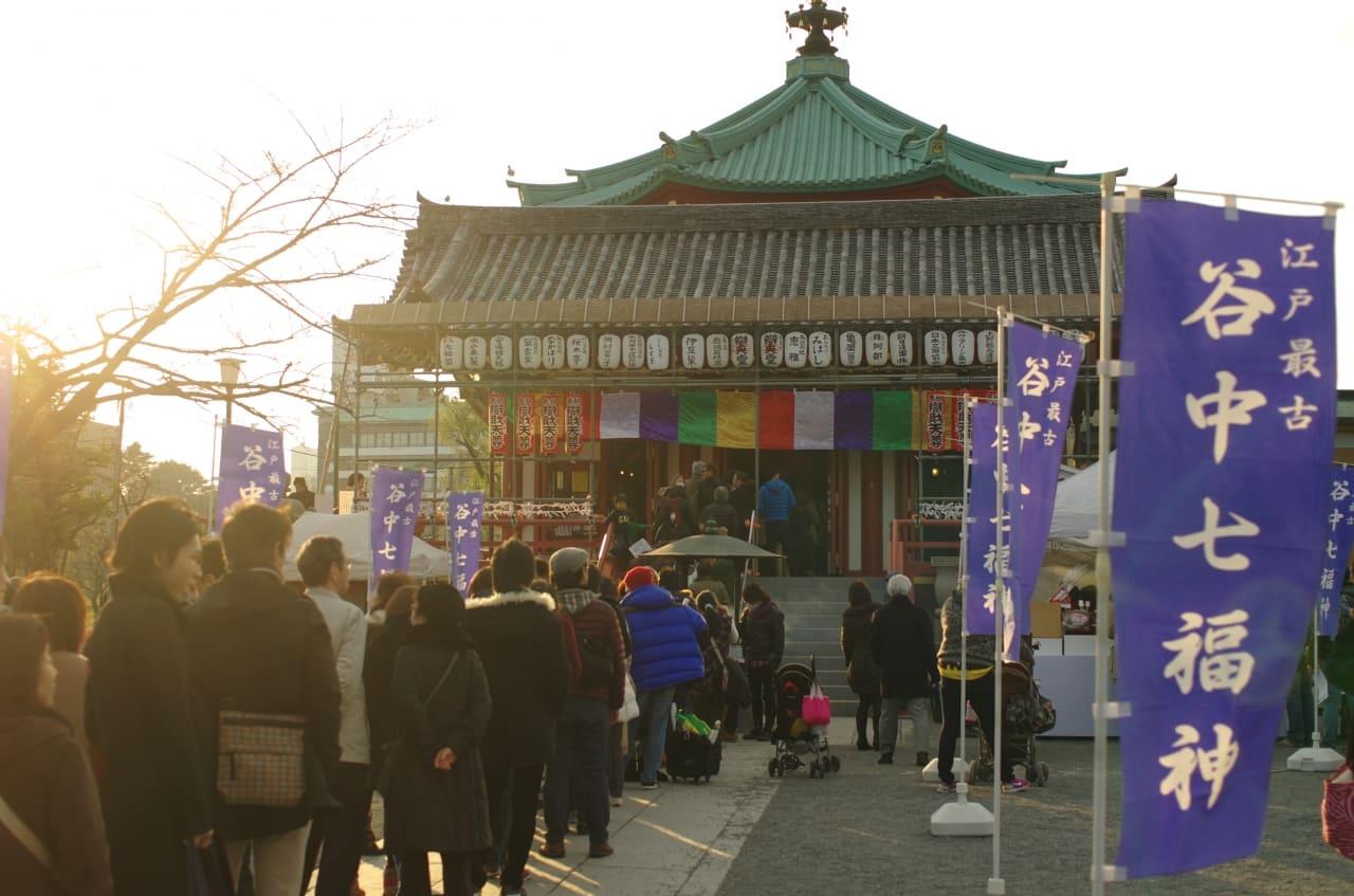 """Yanaka Shichifukujin Meguri"" a Japanese Pilgrimage for Good Fortune"
