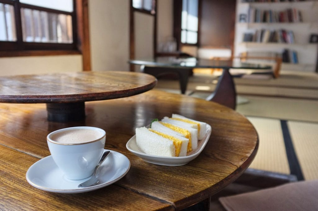 Kayaba Coffee: Eat Breakfast in a Renovated Folk House