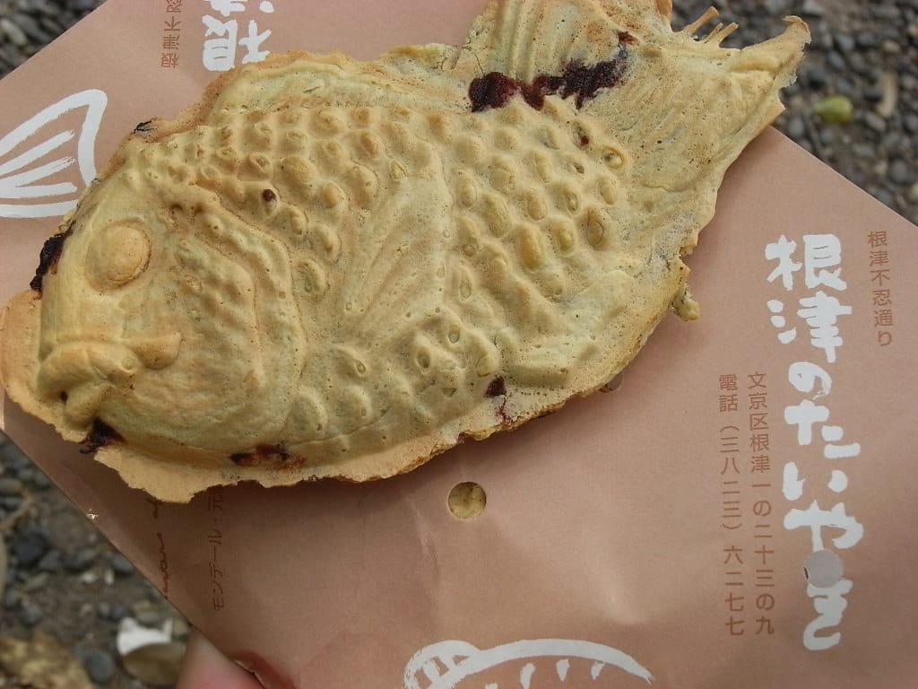 "Taiyaki Worth Waiting for at ""Nezu no Taiyaki"""