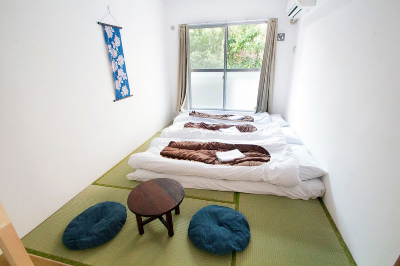 About Sakura Hotel Nippori's room and facilities.