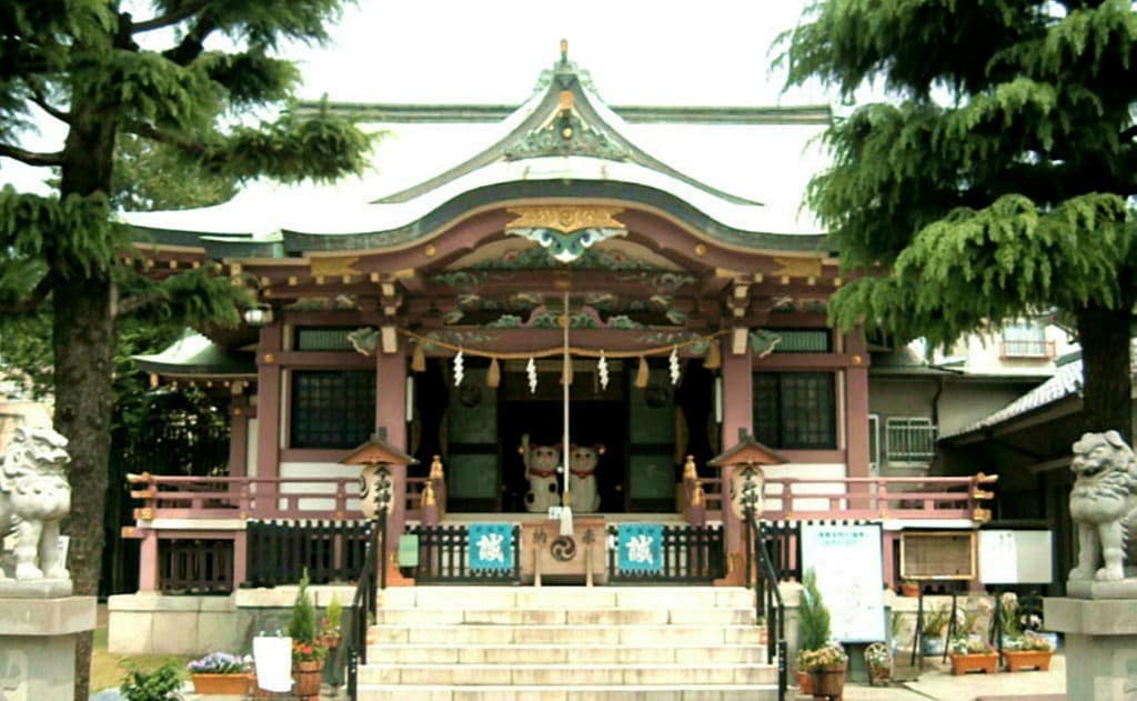 About Imado Shrine
