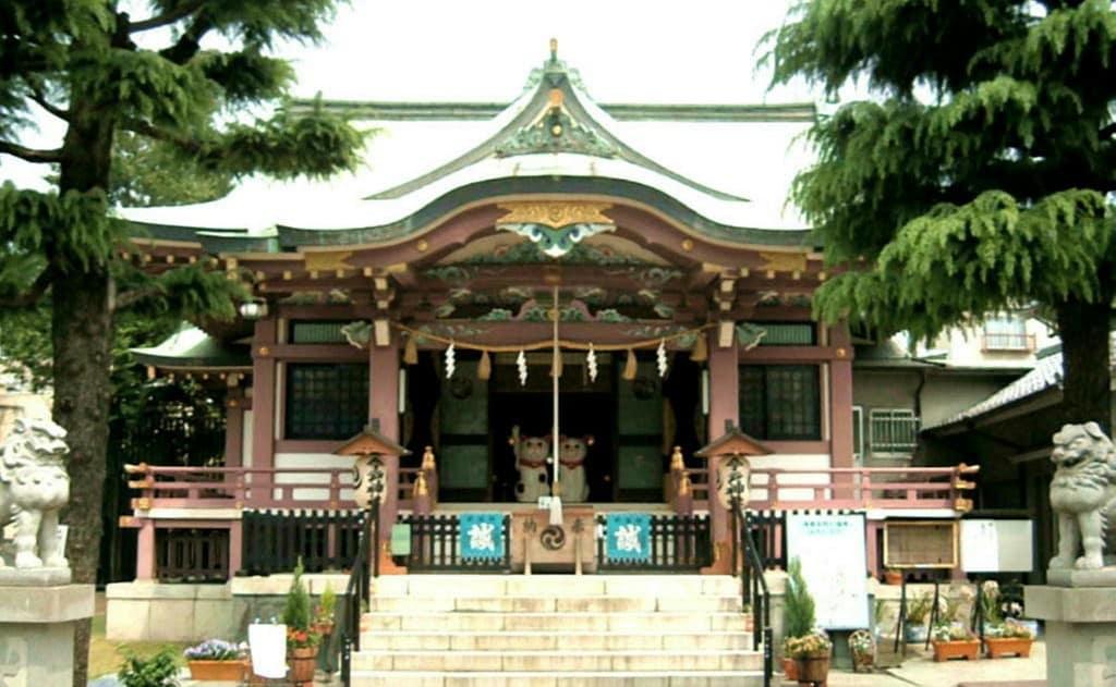 About Imado Shrine