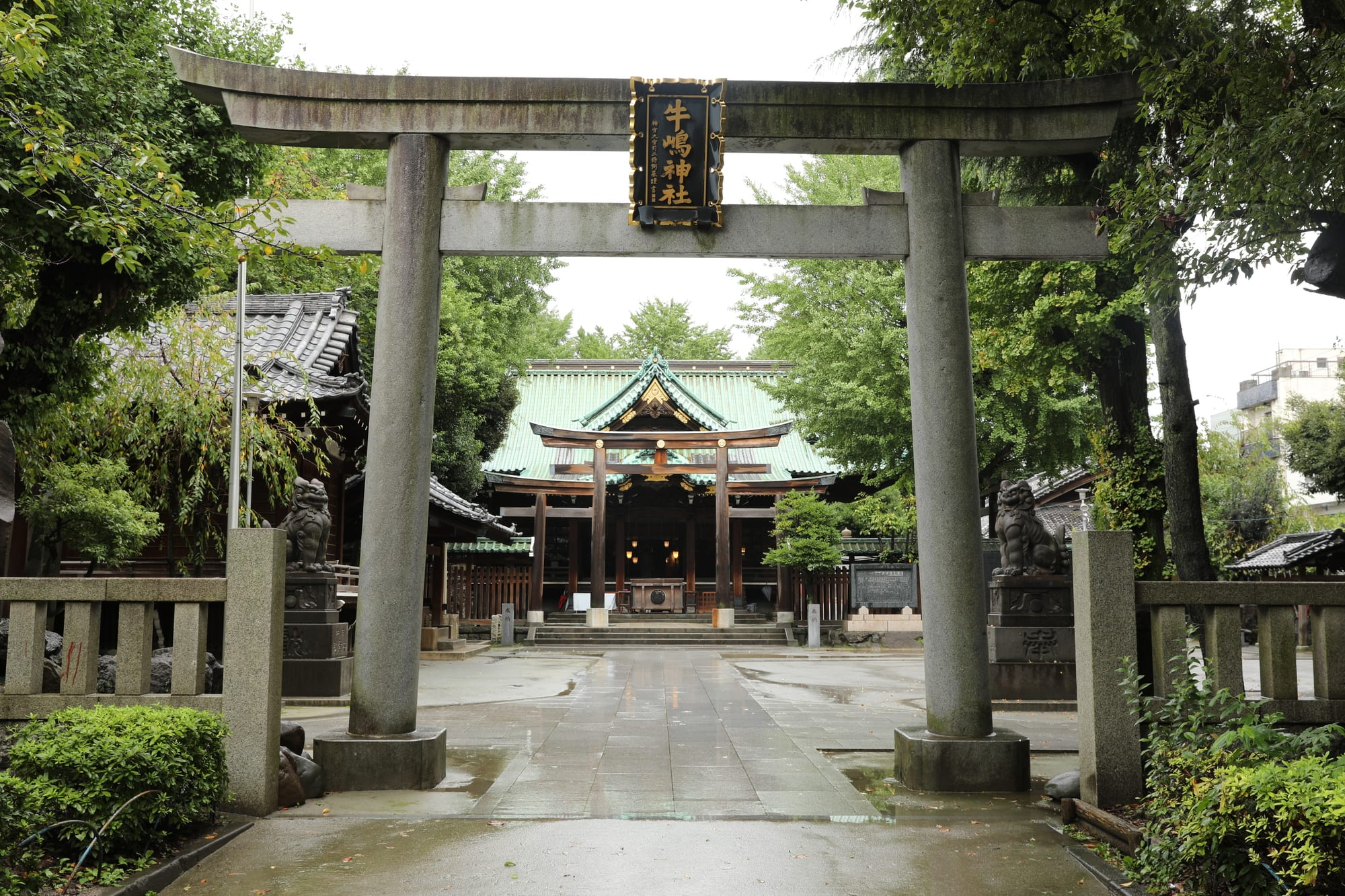 "About ""Ushijima"" Shrine"
