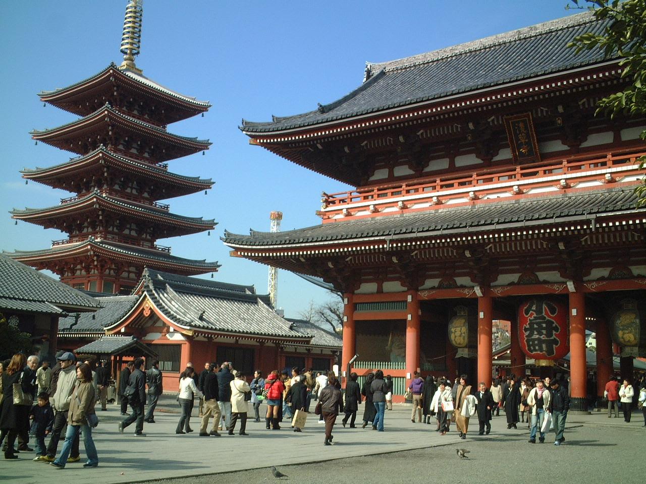 About浅草寺 (Senso-ji temple)2