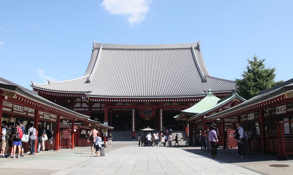 About浅草寺 (Senso-ji temple)