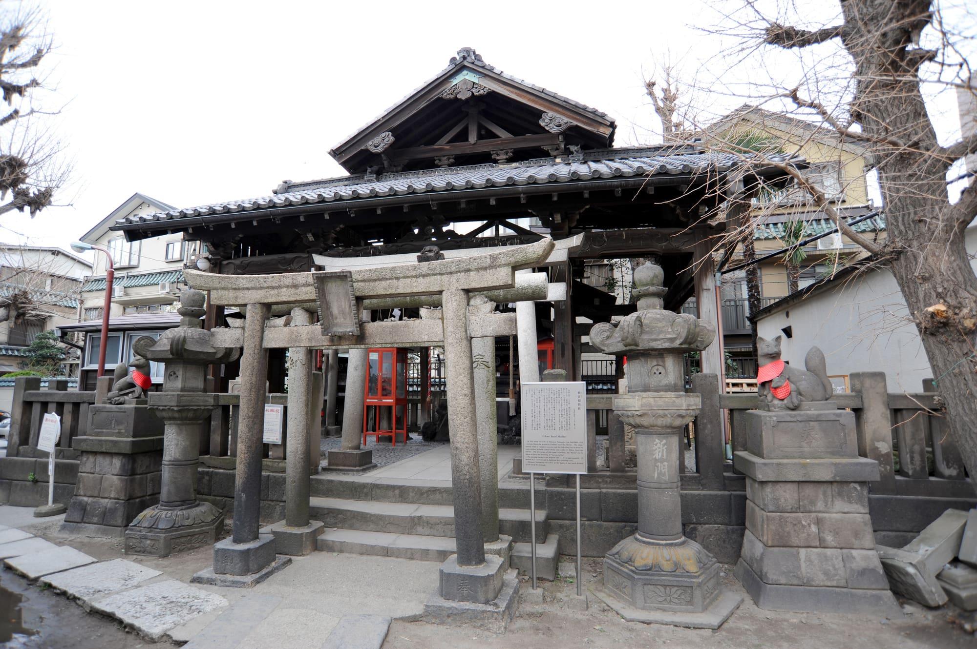 Hikan Inari Shrine in Asakusa Shrine