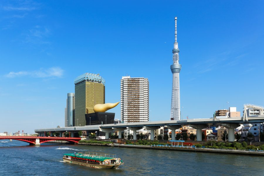 Free Entrance with Tokyo Sky Tree or Water-bus Ticket