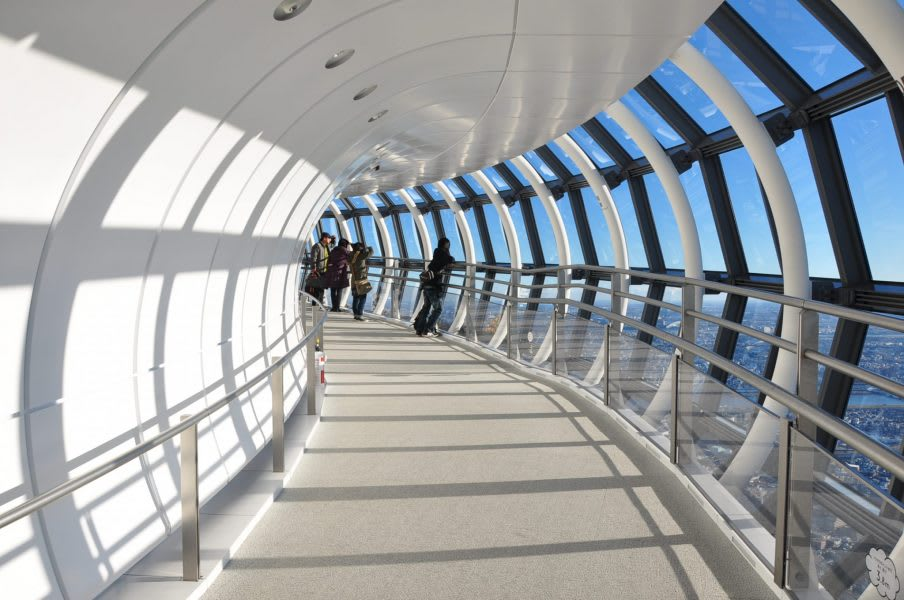 Take in Panoramic Views from the Observation Deck