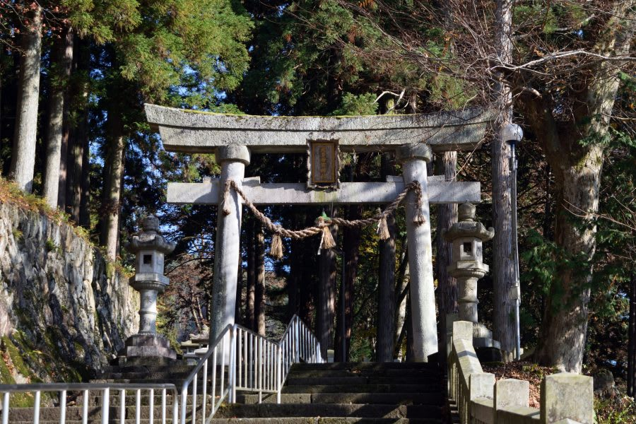 "Keta-Wakamiya Shrine in ""Your Name"""