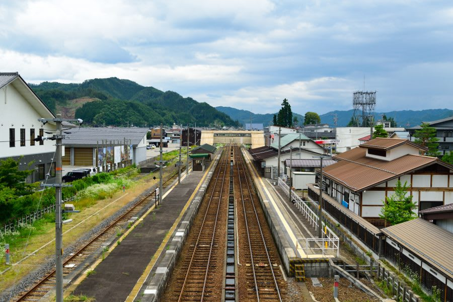 "Hida-Furukawa Town in ""Your Name"""