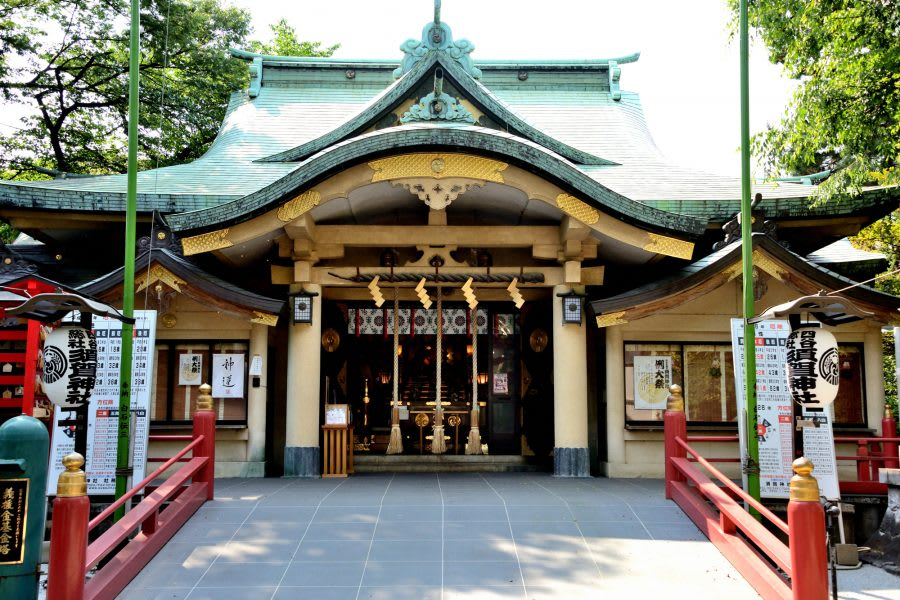 History of Suga Shrine