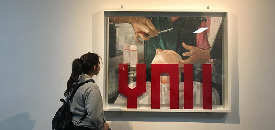 Fotografía de Salón de Julio referente en el arte local