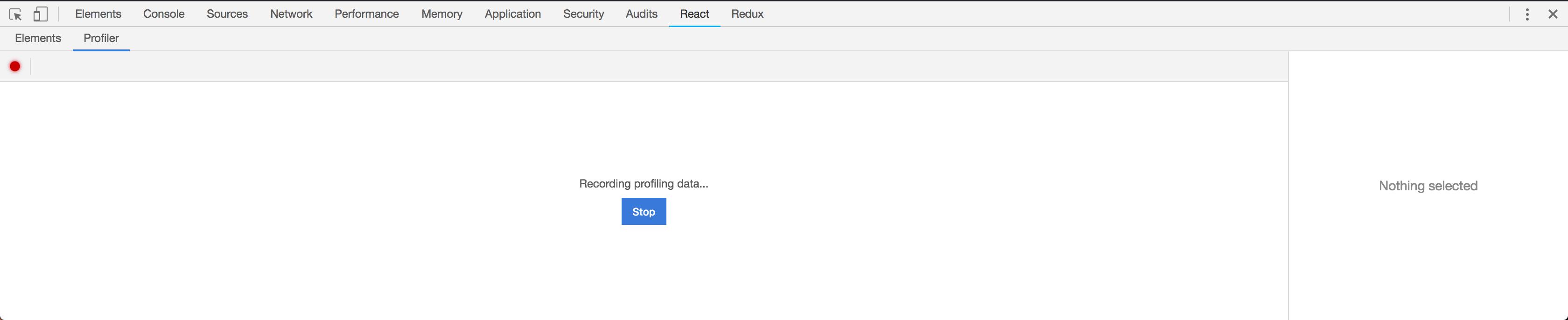 Botão para pausar a gravação