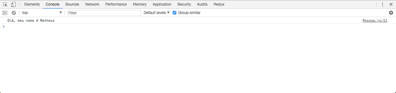 Testando módulo app com type module