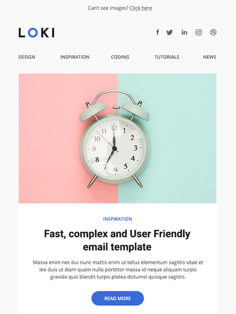 Simple email templates for Professionals