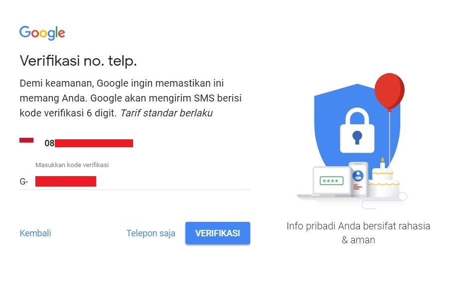 Buat Akun Gmail Itu Mudah Lho, Gan! Berikut Caranya......