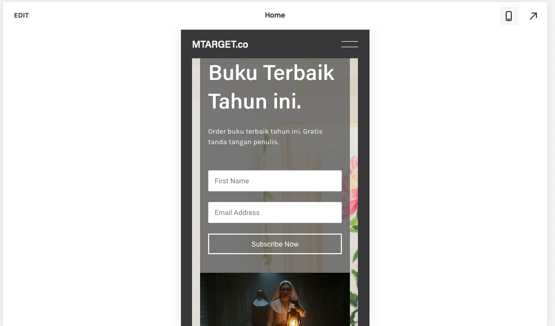 preview mobile