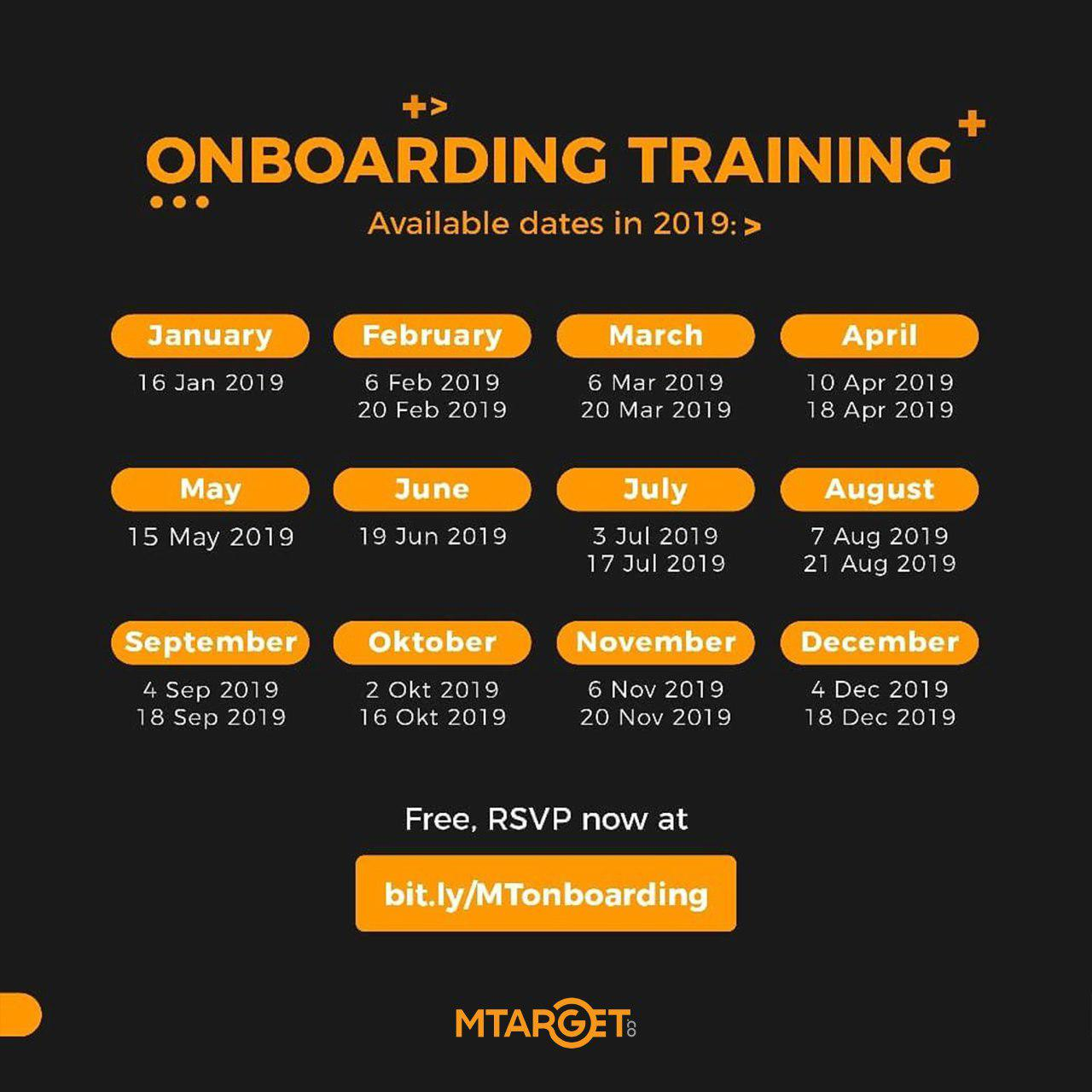MTARGET Onboarding Training