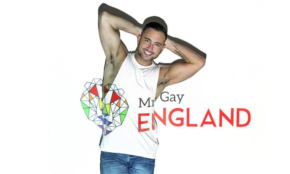 Phil Dzwonkewicz - Mr Gay England 2018