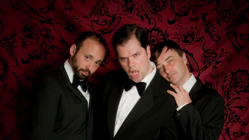 The Bad Gay Movies team. Photo: Michael Shaffer (image supplied)