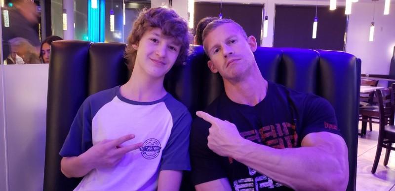 Matt de Iturriaga and his son Braden (image supplied)