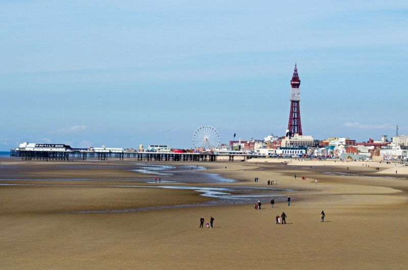 Blackpool, England (image published via Pixabay)