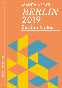Session Notes