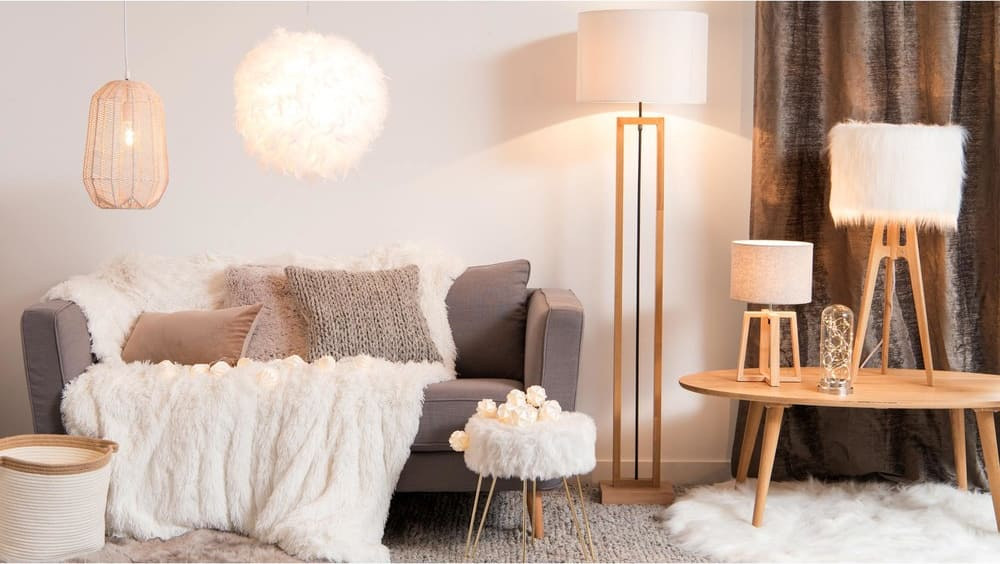 Lampe cloche guirlande lumineuse led silver maisons du monde