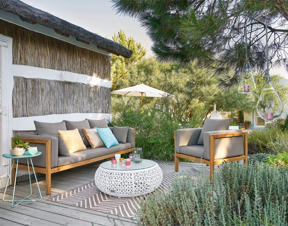 deco a sospensione de cristal con cuerda tipi maisons du. Black Bedroom Furniture Sets. Home Design Ideas