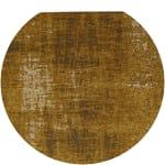 Baumwollteppich, senfgelb, 140x200