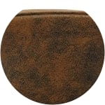 Sillón infantil de microgamuza marrón