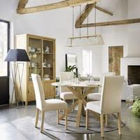 2 beziehbare Stühle aus Kiefernholz, gebleicht Margaux