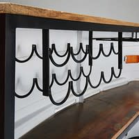 Bar en métal et bois recyclé Truck