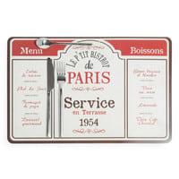 Bistrot de Paris tafelset