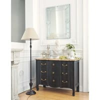 Black Acacia and Mango Chest of Drawers Versailles