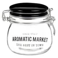 Bocal en verre avec couvercle Aromatic Market