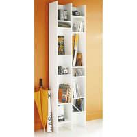 Bookcase column in white null