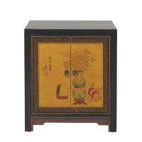 Cabinet de rangement en bois recyclé L 60 cm Shanghaï