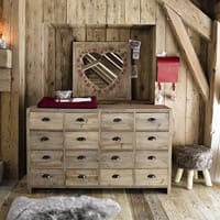 Cabinet de rangement en sapin Woodpecker