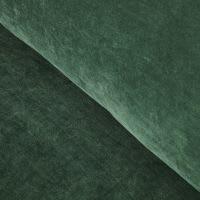 Canapé 3 places en velours vert Giulia