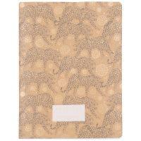 Carnet de notes imprimé léopard