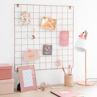 Copper Metal Photo Montage Frame 60 x 60 cm Moodboard
