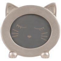 Cornice gatto rosa, 9x7 cm
