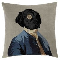 Coussin chien 45 x 45 cm Charles