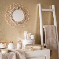 Echelle décorative en chêne blanc Ines