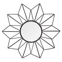 Ensemble de 3 miroirs ronds en métal D25 Suzi
