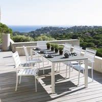 Gartensessel aus Aluminium, weiß Portofino Portofino