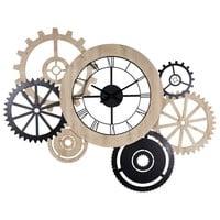 Image D Une Horloge horloge bicolore l.145cm hipster | maisons du monde