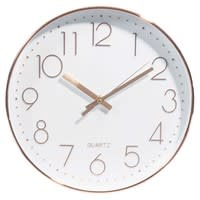 Image D Une Horloge horloge d 31 cm swaggy copper | maisons du monde
